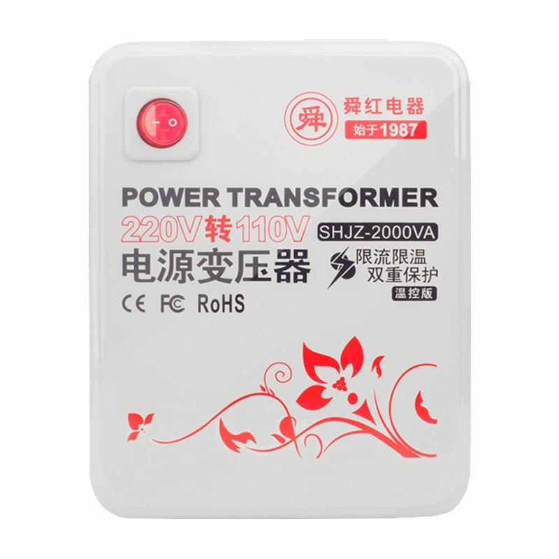 2000W transformer AC220v to AC110v transformer новый 8 дюймовый планшетный пк teclast p80h mtk8163 quad core 1280x800 ips android 5 1 dual 2 4g 5g wifi hdmi gps