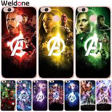 Avengers4: Endgame Cases For Xiaomi Mi5X Mi a1 a2 Mi6 X Mi8 Mi9 Redmi Y1 Lite 4X 5a 6A 6 4A Note 5A phone Etui case Cover