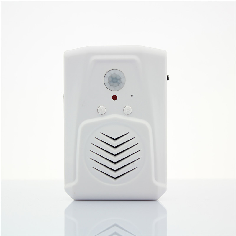 mini pir motion sensor activated audio player motion activated speaker welcome chime bell in. Black Bedroom Furniture Sets. Home Design Ideas