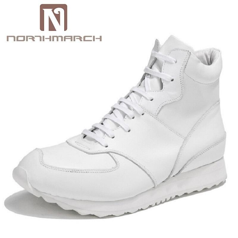 Casuais Alta Lace Northmarch Crescente Up Qualidade Respirável De Grosso Homem Marca branco Sapatos Top assorted Altura Fundo Homens Preto Calçado wqCpXCxg