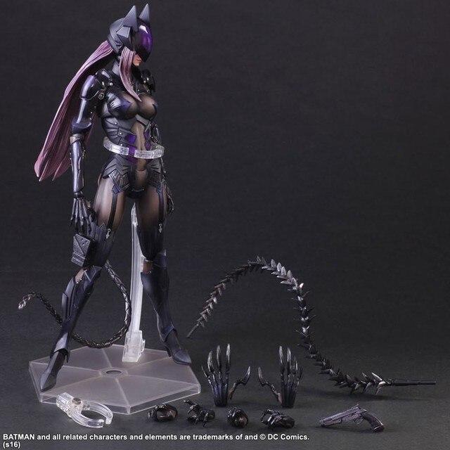 New Play arts Kai Final Fantasy DC Catwoman 28cm Pvc