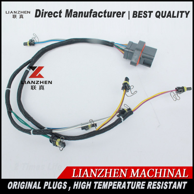 Excavator replacement parts E330D 336D Ignition wires for LIANZHEN wiring harness 419 0841 4190841_640x640 wiring harness repair parts on wiring download wirning diagrams porsche 928 replacement dash wiring harness at gsmx.co