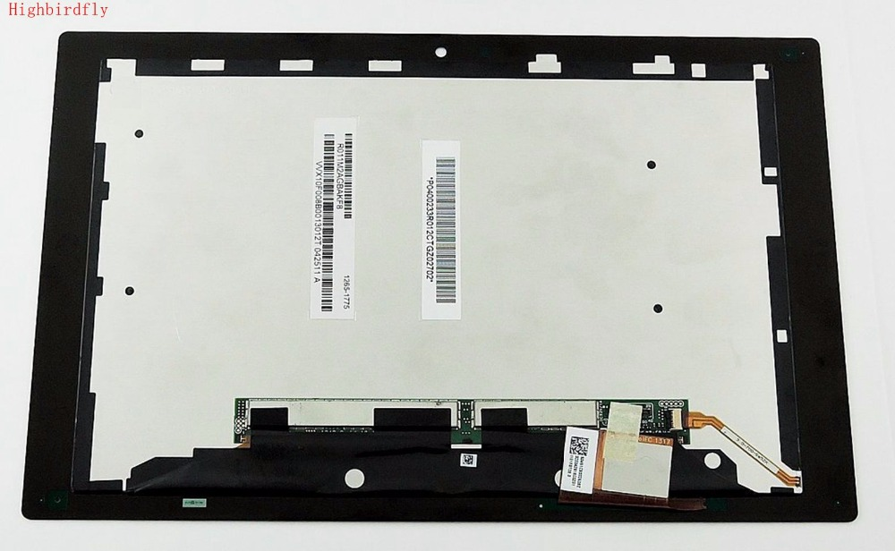 Highbirdfly For <font><b>Sony</b></font> Tablet Z SGP321 SGP312 <font><b>SGP311</b></font> Lcd Screen Display+Touch Glass DIgitizer Together Full Set monitor image