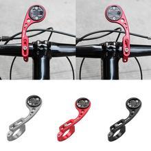 Mountain Bike Bicycle Computer Holder Mount Front Bike Extension Bracket for GARMIN Bryton Cat Eye Gopro GPS Base