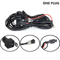 Free Shipping high quality waterproof Universal Car Wiring Harness Kit Loom for high power LED Driving Light Bar 12V 40A