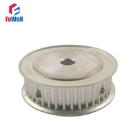 5M Type Aluminum Alloy 12mm Inner Bore 60 Teeth 21mm Belt Width 60T Timing Belt Pulley