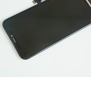 Image 5 - Digitixer で 10 個 iphone xr 液晶ディスプレイの oem 交換アセンブリ 45 ° エッジ角度黒 iphone xr タッチスクリーン