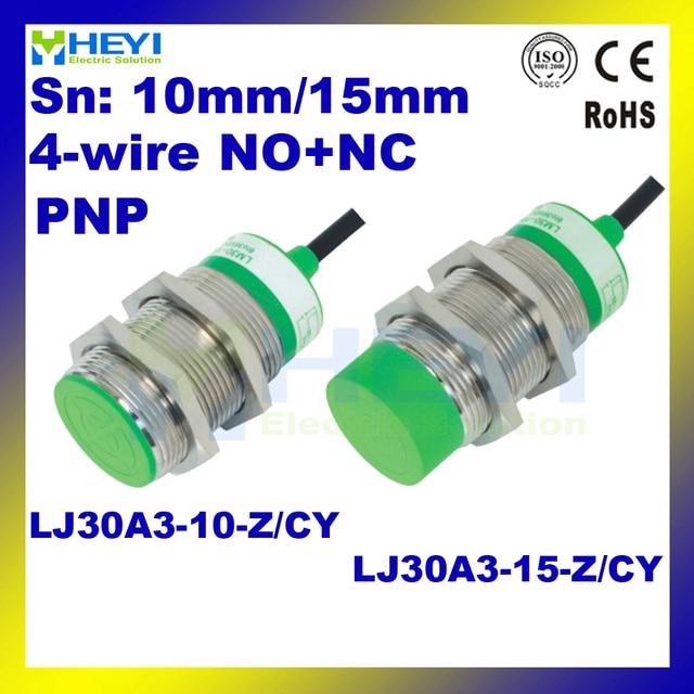 DC6 36V 3 wire NC+NO inductive proximity sensor LJ30A3 15 Z/CY PNP ...