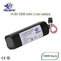 Rechargeable 5300mAh Li ion Lithium ion Battery for xiaomi mijia robot vacuum cleaner xiaomi mi robot 2nd roborock S50 S51 S55