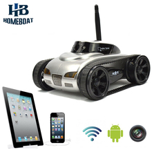 New wifi Mini RC Tank Car RC Camera Cars 777-270 with 30W Pixels Camera for iPhone iPad iPod Controller