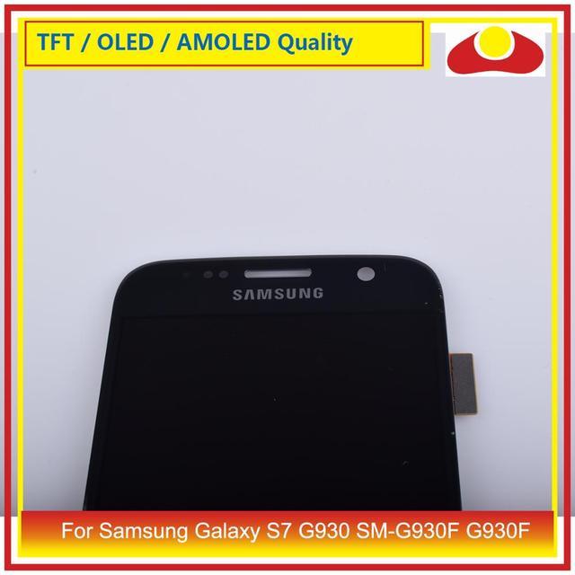 ЖК-дисплей с дигитайзером сенсорного экрана для Samsung Galaxy S7 G930, G930F, G930F, Полная панель