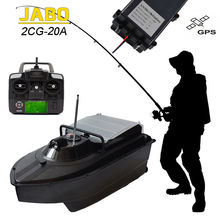 JABO 2CG 20A 5hrs Working Wireless RC Carp Bait Boat Fish Finder Night Sonar Detection GPS