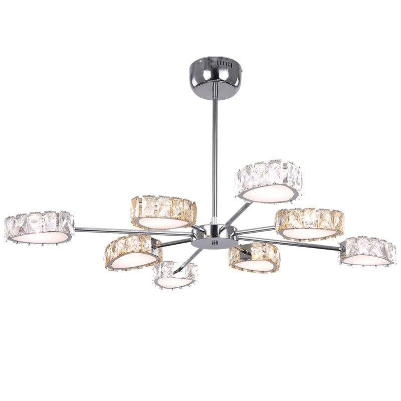 Modern crystal Lustre chandelier Led Crystal Chandelier Lighting Ceiling Chandeliers Light Living room lights Bedroom lights