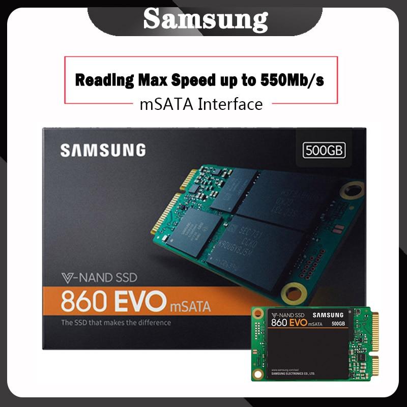 Samsung Internal SSD 860 EVO mSATA 250GB 500GB 1TB Solid State Drive HDD Hard High Speed