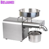 BEIJAMEI Household Peanut Oil Press Machine Automatic Walnut Rapeseed Almond Oil Pressers Cold Hot Perilla Seeds Extraction