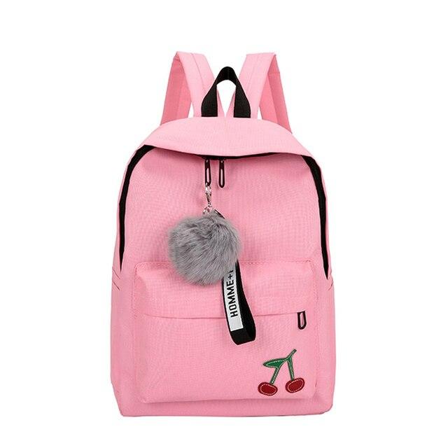 Fur Ball Girl Backpack
