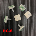 70pcs HC-8 Nylon Plastic PCB Board Support Holder 3mm Hole Locking Snap-In Rivet 3M Glue Stick Fixed Mount Self Adhesive Spacer