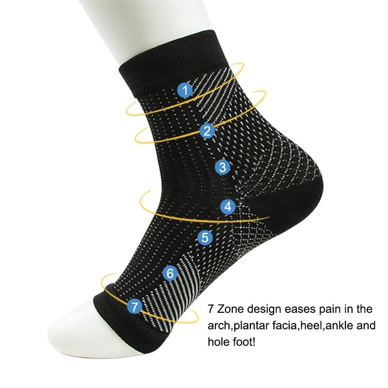 Dropshipping Comfort Foot Anti Fatigue women Compression font b socks b font Sleeve Elastic font b
