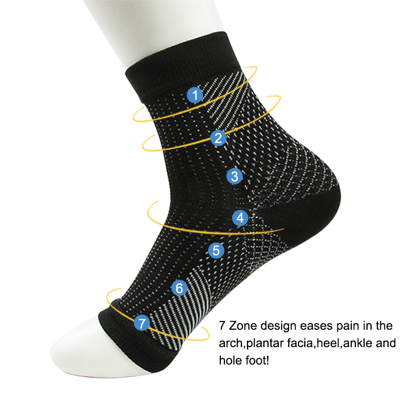 Comfort Foot Anti Fatigue women Compression socks Sleeve Elastic Men's Socks Women Relieve Swell Ankle sokken