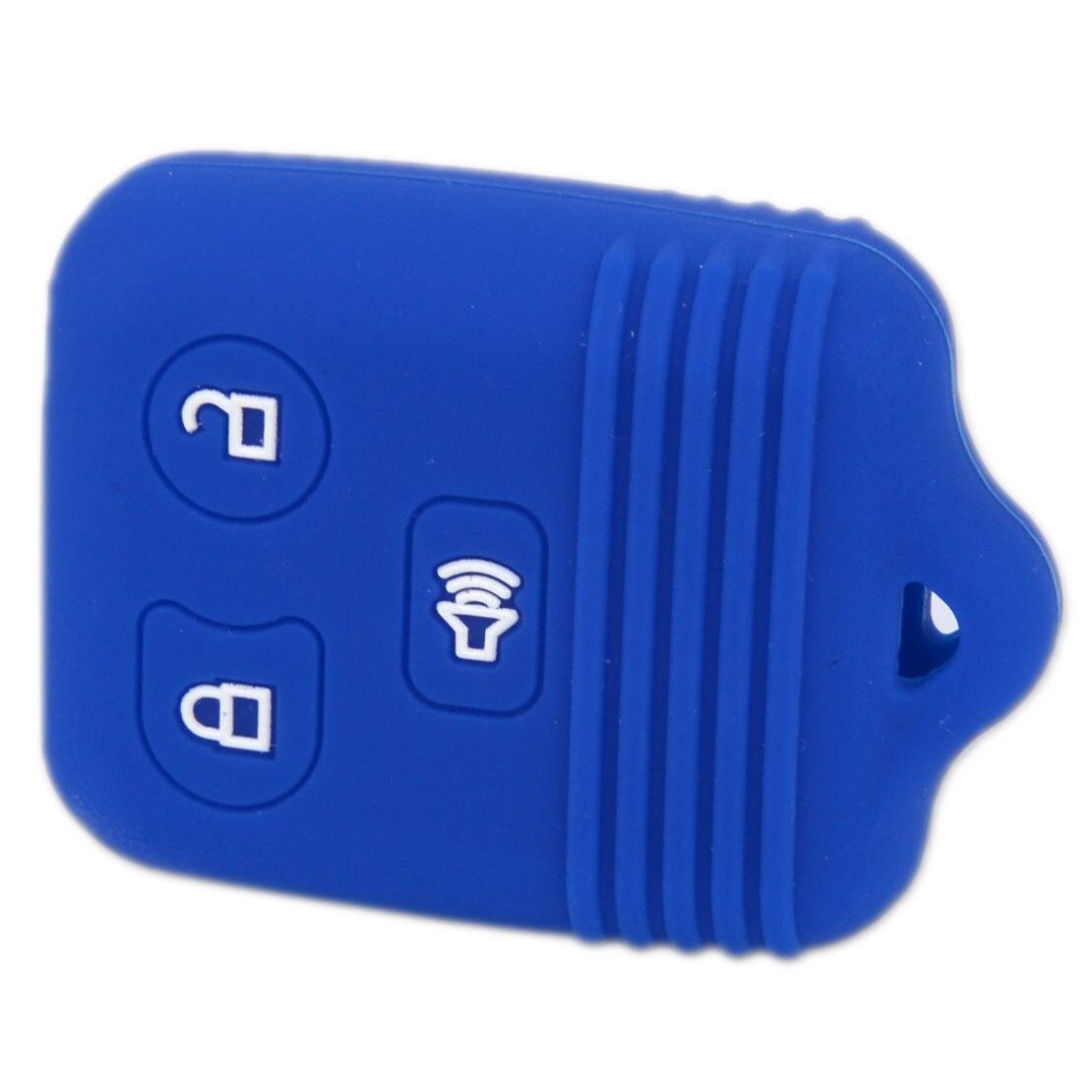For Ford Mercury Lincoln Mazda 3 Button Car Fob Remote Case Silicone Key Cover
