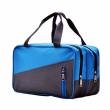 Waterproof nylon sports swimming bags outdoor beach travel bikini storage handbag large capacity dry wet separation gym bags