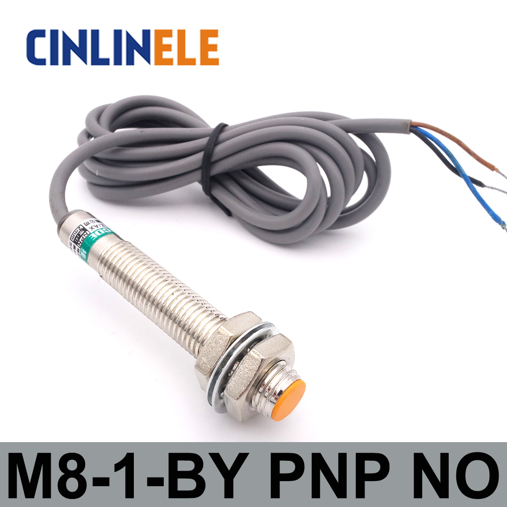 Proximity Switch 1mm LJ8A3-1-Z//BY PNP DC 3-Wire Normally Open Inductive Sensor Proximity Switch