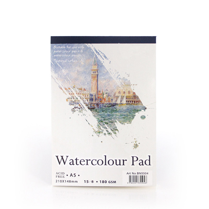 15 Sheets A4 A5 Watercolor Pad Paper Sketch Book Students Drawing Painting Notepad Diary Sketchbook School Office Stationery15 Sheets A4 A5 Watercolor Pad Paper Sketch Book Students Drawing Painting Notepad Diary Sketchbook School Office Stationery