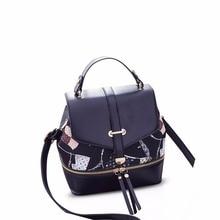Николь и Дорис Мода школа дорожная сумка рюкзак кошелек сумка дамы рюкзак сумка-шоппер из искусственной кожи