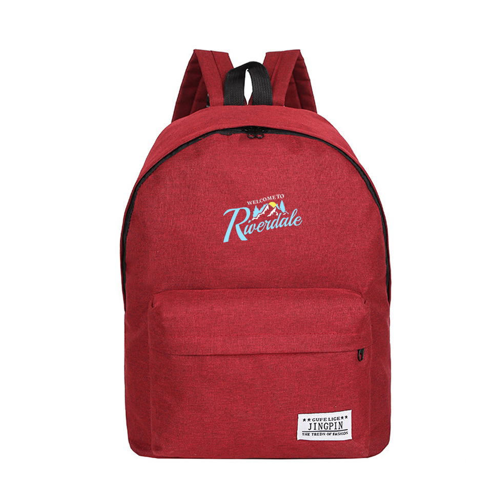 06363db6bd64 US $17.18 35% OFF|2018 Riverdale Backpack schoolbag for teenagers Man Woman  mochila Casual Black School Bags travel Laptop Bags Harajuku Rucksack-in ...