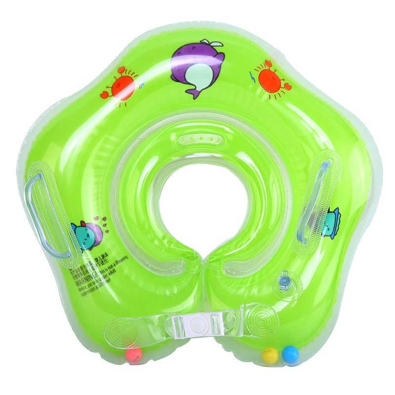 Intime надувной круг Плавание ing шеи кольцо младенческой Плавание шеи ребенка кольцо безопасности плавательный круг для шеи Круг купальный средние и большие Размеры