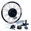 Delantera o trasera motor 65 km/h 48 v 1500 w bicicleta eléctrica kit de conversión para 20 24 26 28 700c