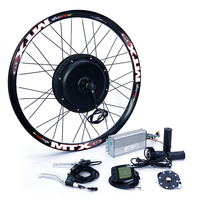 Electric Bike Kit 1500w Motor Wheel 48V E Bike Kit 1500W Wheel Motor Electric Bicycle Conversion Kit for 20 29in Rear Hub Motor