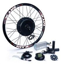Спереди или сзади двигателя 65 км/ч 48 В 1500 Вт Электрический велосипед conversion kit для 20 «24» 26 «28» 700c