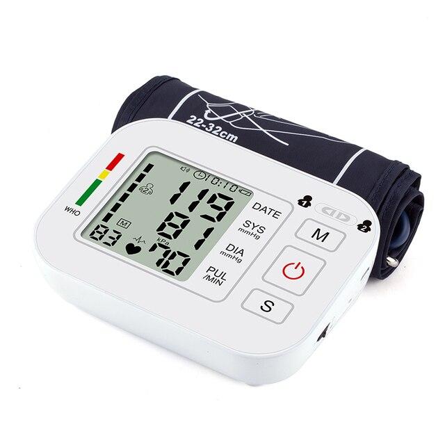 Medical Equipment Tonometer Digital Upper Arm Tensioner Blood Pressure Monitor Measurement Meter Device BP Meter For Measuring 5