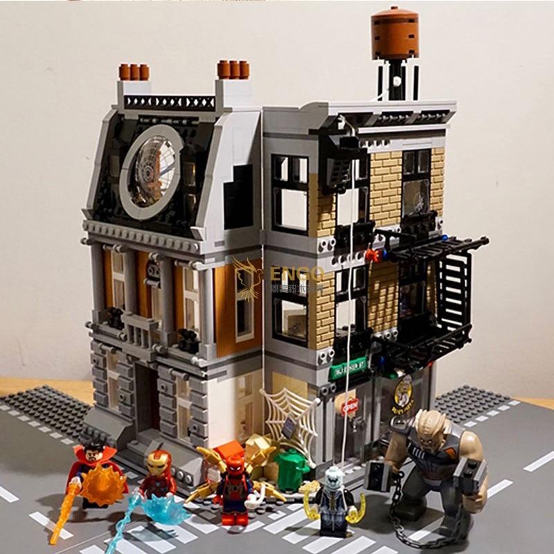 07107 Bela 10840 Avengers Marveled Infinity War Super Sanctum Showdown Building Brick Block Toys Compatible with  7610807107 Bela 10840 Avengers Marveled Infinity War Super Sanctum Showdown Building Brick Block Toys Compatible with  76108