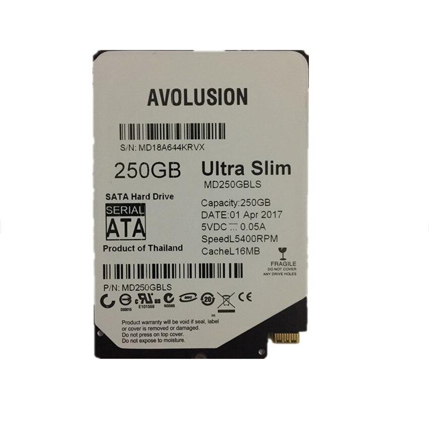 250gb 2.5inch UltraSlim 5MM 16MB 5400RPM SFF-8784 SATA Express - Komponentët kompjuterikë
