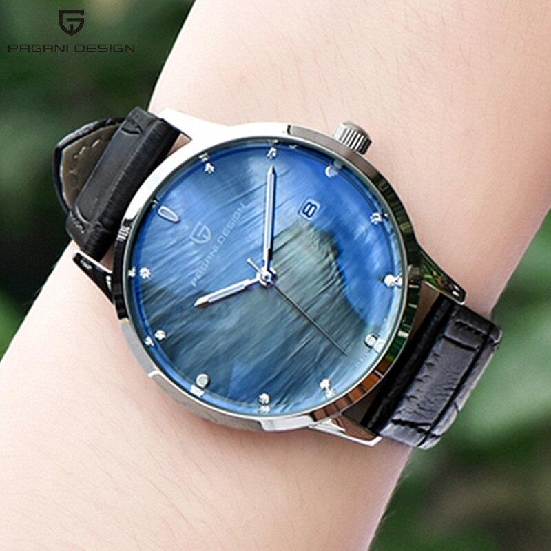 Luxury Pagani Fashion Ladies Watches Gold Women Watches Elegant Casual Female Waterproof Clock Wristwatch reloj mujer