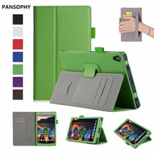 """Para Lenovo Tab 8 Plus/P8 Caso Ultra-delgado de Cuero PU Cubierta Magnética caso Para Lenovo TB3 8703 TB-8703F TB-8703N 8 """"caja de la Tableta"""