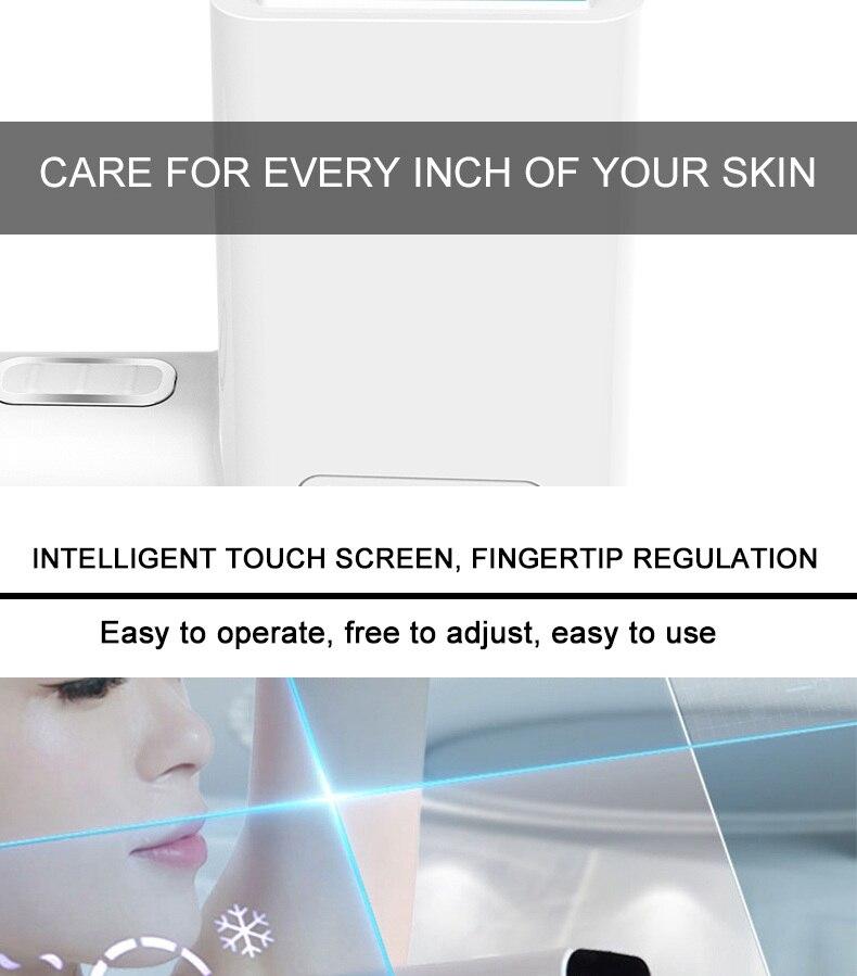 Lescolton ipl depilador depilação a laser permanente