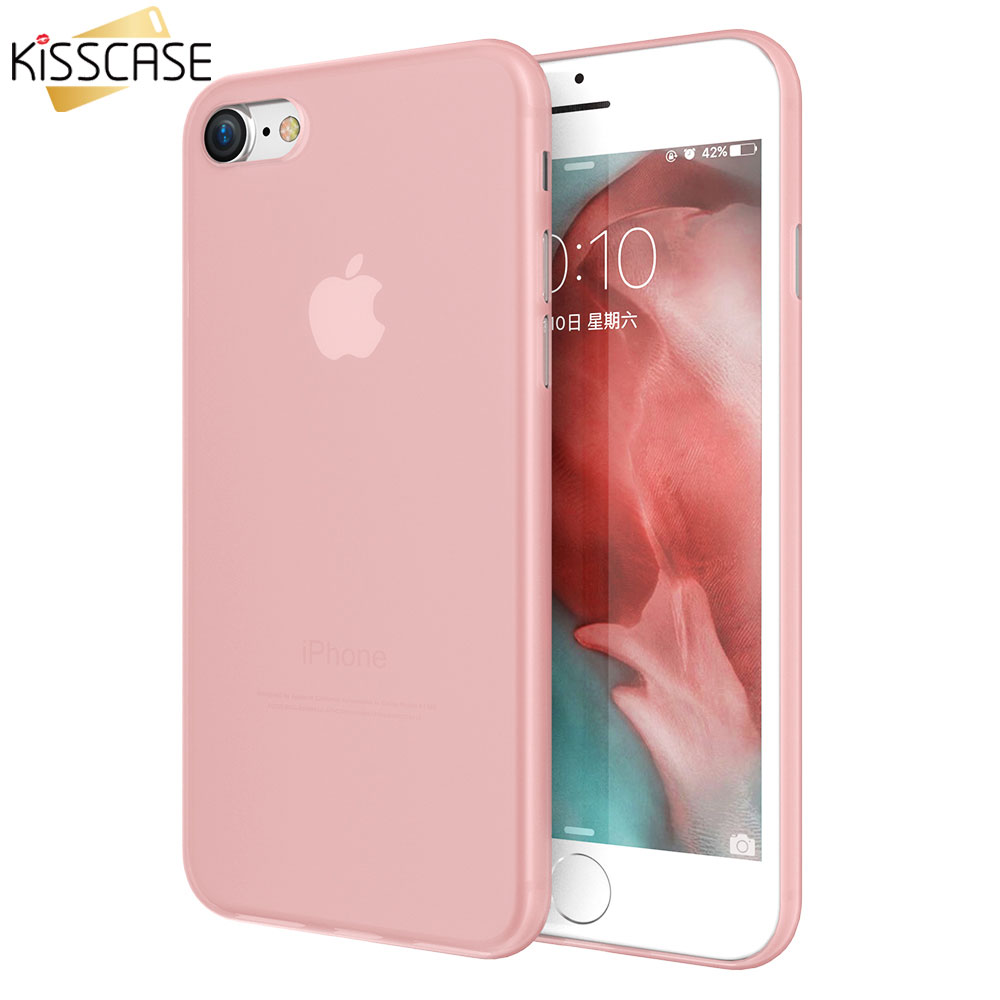 KISSCASE Shockproof Matte Phone Case For iPhone 7 XR XS MAX