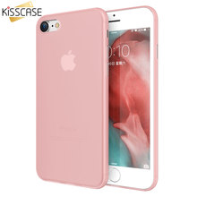 KISSCASE Ultra Thin Phone Case For Apple iPhone X 7 8 Plus Matte PC Cases For iPhone X Cover Fundas for iPhone 5 5s SE 6 6s Plus