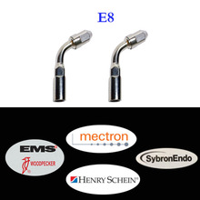 2 pieces/lot Dental Ultrasonic Scaler Tip E8 Compatible with Woodpecker, EMS, Mectron