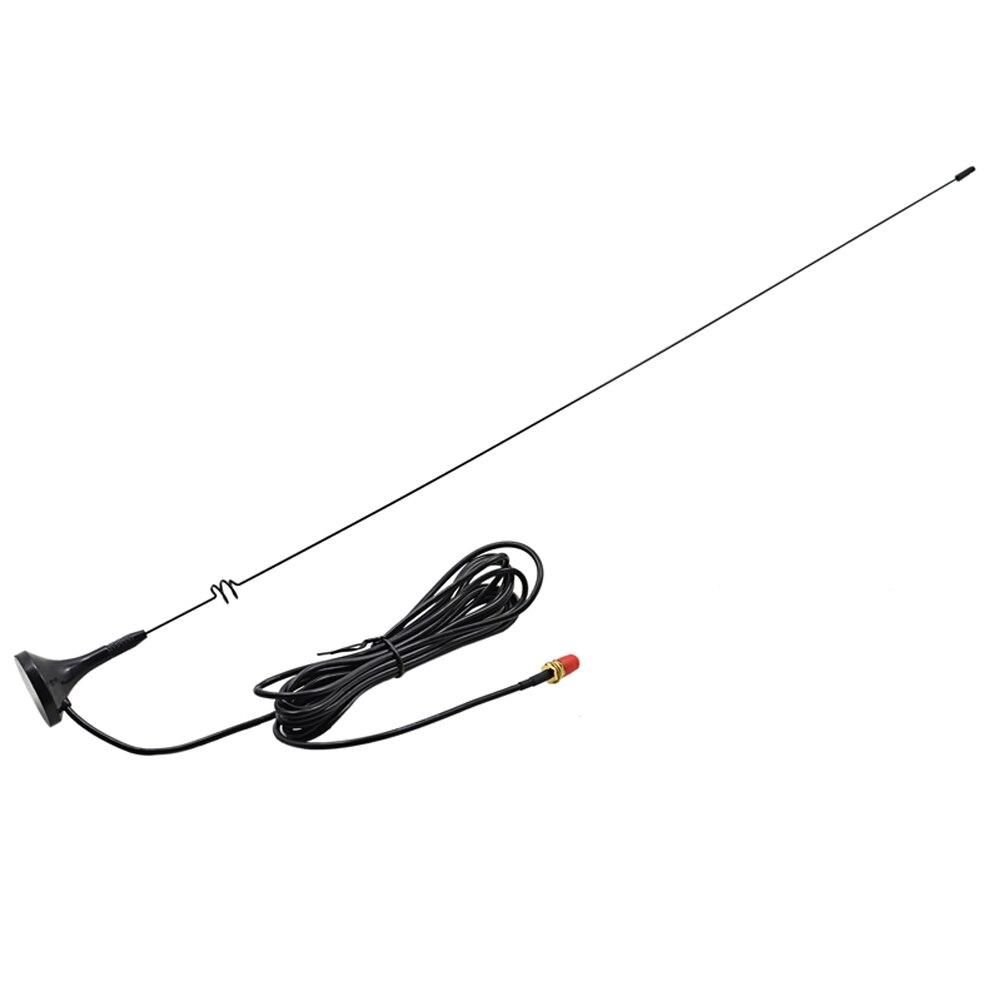 bilder für Hohe Qualität UT-108UV SMA-F Auto Magnetfuß-antenne Dual Band UHF/VHF 144/430 Mhz für Baofeng UV-5R UV-5RE BF-888S UV-B5 UV-B6