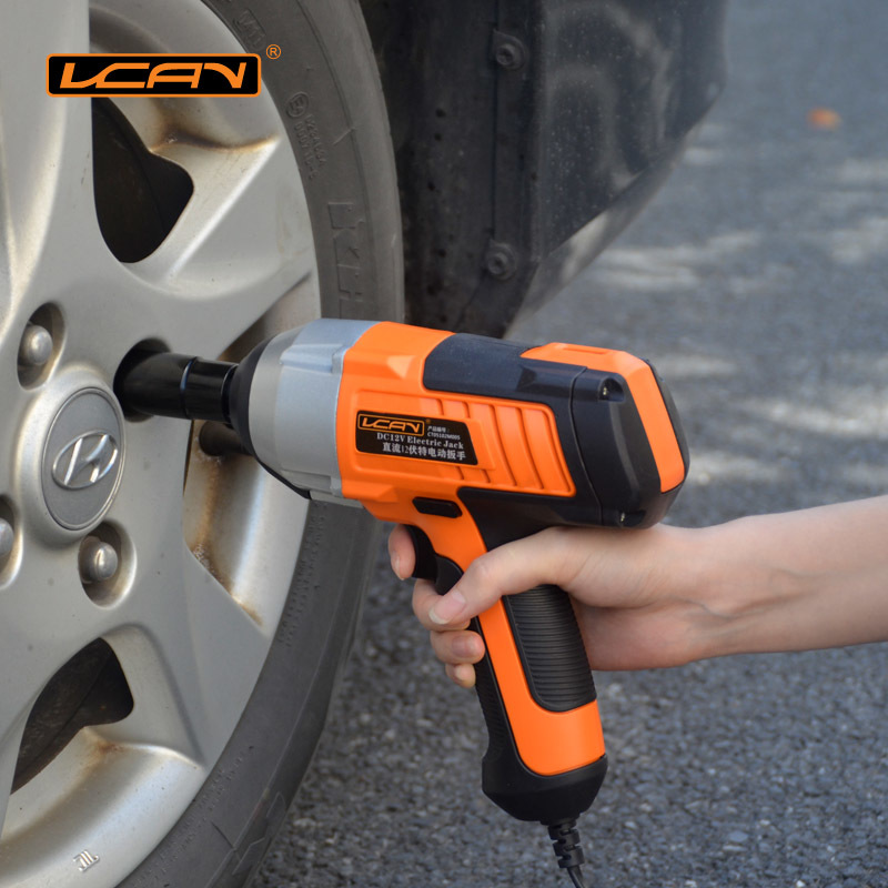 New Arrival DC 12V Car Impact Wrench 380N.m Electric Impact Wrench For Car/SUV Changing Tire Tools 1/2 Connect Electric Wrench impact wrench