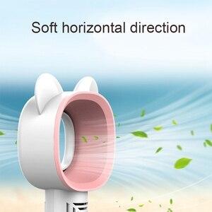 Usb Ручной Мини-охлаждающий вентилятор перезаряжаемый портативный вентилятор из кожи