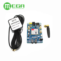 SIM808 Instead Of SIM908 Module GSM GPRS GPS Development Board IPX SMA With GPS Antenna For