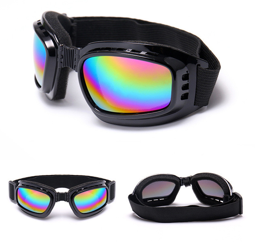Women Children Boys Girls Kids Ski Snowboard Glasses Skiing Sunglasses Kid's Winter Single Layer Skate Anti-UV Ski Goggles