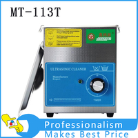 Small Ultrasonic Cleaning Machine Digital Wave Cleaner 1 3L Household Glasses Jewelry Watch Toothbrushes Bath 110V