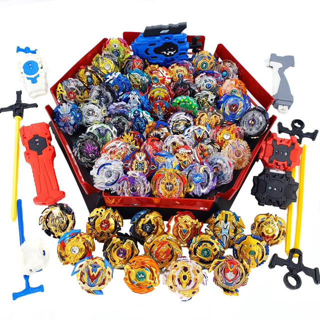 Tops set Launchers Beyblade Arena Spinning Top Metal Fight Bey blade Metal Bayblade Stadium Children Gifts Classic Toy