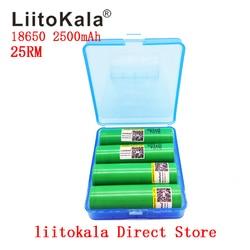 2019 Новый Liitokala 18650 2500mah аккумулятор 3,7 V оригинальный INR18650-25RM 20A разрядный литий-Литий-ионные аккумуляторы